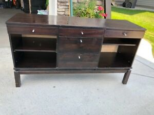 Wood console/side table