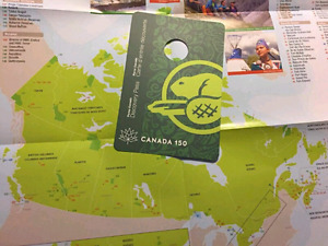 Parks Canada 2017 Seasons pass