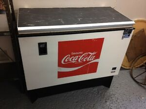 FRIGO COCA COLA ANNEES 70 -  70'SCOCA COLA FRIDGE