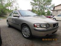 2001 Volvo S60 2.4 turbo  full Sedan, moving sale, negotiable