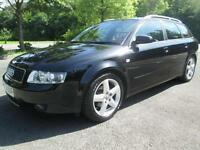 03/53 AUDI A4 1.9 TDI SPORT AVANT IN MET BLACK WITH SERVICE HISTORY