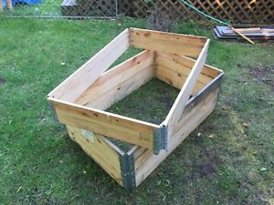 Collapsible  metal hinged modular wood crates  Kawartha Lakes Peterborough Area image 3