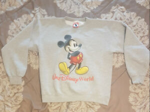 Authentic walt Disney world Mickey crewneck mens (L) PICKUP ONLY
