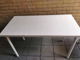 White dinner table on sale