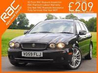 2009 Jaguar X Type 2.2 Turbo Diesel SE Auto Estate Sat Nav Leather Heated Seats