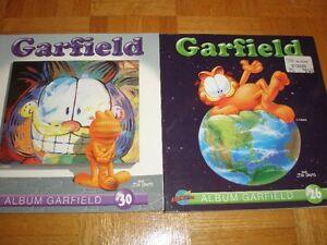 2 livres de Garfield