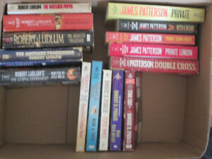 Collection of J.Patterson/R.Ludlum/R.Parker