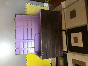 Large Wooden Toy Trunk-100$