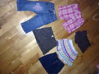 3 skirts, 2 shorts and 1 pair of jeans size 4t