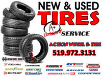 New & Excellent Used Tires at Wholesale Prices