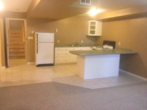 2 bedroom 1 bathroom basement apartment in North end of Barrie