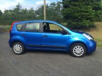 late 2008 Nissan note 1.6 petrol