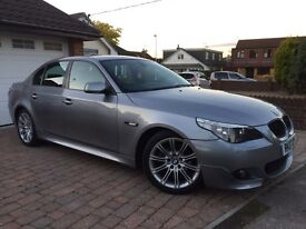 BMW 520D 2.0L M Sport In Prestige Condition!! FULL BMW Service History/1 Year MOT/HPI Clear