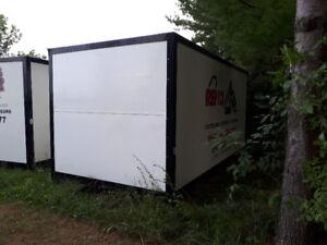Entrepôt mobile roll-off de 16' x 8' x 8'