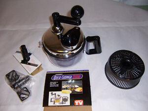 Gourmet Quick Chopper 2000 Manual Food Processor