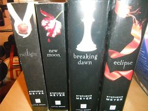 THE 4 TWILIGHT SAGA BOOKS BY STEPHENIE MEYER  PERFECT CONDITION