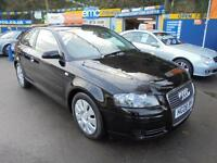 2008 08 AUDI A3 1.9 TDI E LTD EDITION IN BLACK # FULL BLACK LEATHER LOW TAX #