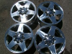 "4- 20"" 8 x180 GM DENALI FACTORY POLISHED ALLOYS,CENTRES INCL."