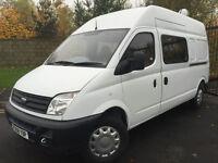 2008 08 LDV MAXUS 9 SEAT CREW VAN 3.5T 95 LONG WHEEL BASE HIGH ROOF *NO VAT*