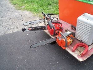 have 3 working chainsaws for sale