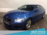 2014 BMW 4 SERIES 420d M Sport 2dr Auto