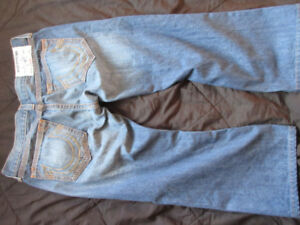 blue Men`s True Religion Jeans, made in Mexico, 36 X 28. $60.00