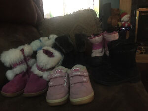 Girls sz 7 toddler footwear