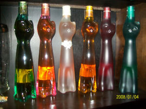 Collectible Cat Bottles