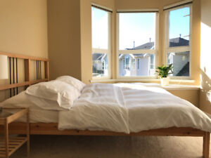 Bright & Comfy Bedroom Fully Furnished