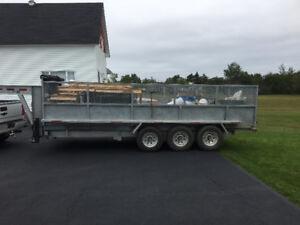 20 yd Dumpster Rentals -290$- Junk Removal