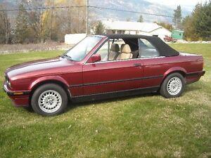 Classic BMW E30 318i Convertible