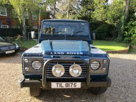 1996 Land Rover 110 DEFENDER COUNTY 2.5 TDI 9 SEATER LWB STATION WAGON ORIGINAL