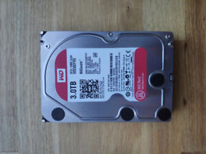 WD Red 3TB NAS Hard Disk Drive disque dur WESTERN DIGITAL x2