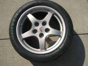 CORVETTE MAGNESIUM WHEEL AND TIRE