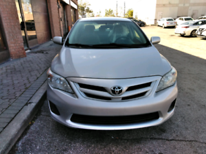 2012 TOYOTA COROLLA LE,NO ACCIDENT, BLUETOOTH,AUX,USB,