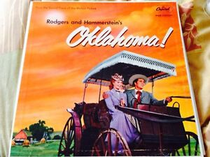 Oklahoma musical LP Record Album