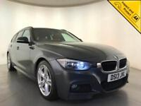2013 BMW 318D M SPORT DIESEL ESTATE SERVICE HISTORY RED LEATHER INTERIOR