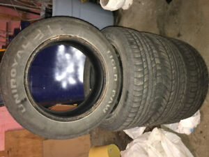 Pneus 4 saisons - 4 season tires