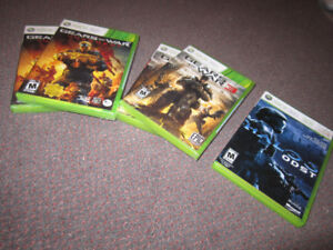 XBox 360 Games - Gears...3, Gears ... Judgment, Halo 3 - ODST,