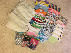 Full Cloth Diapers Set