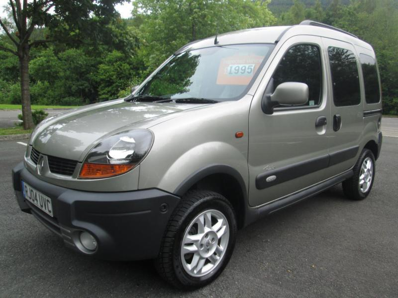 04 04 renault kangoo trekka 1 9 dci 4x4 mpv in met grey in porth rhondda cynon taf gumtree. Black Bedroom Furniture Sets. Home Design Ideas