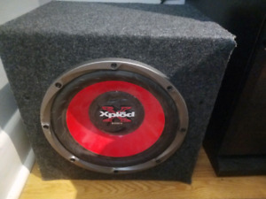 Sony 10 inch XPLOD car Subwoofer with box