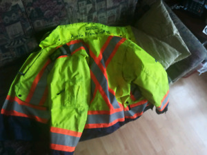 Dakota High Visibility Jacket Medium