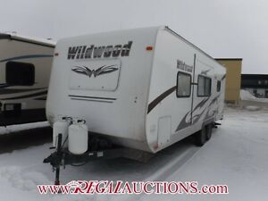 2012 FOREST RIVER WILDWOOD T23FB  TRAILER
