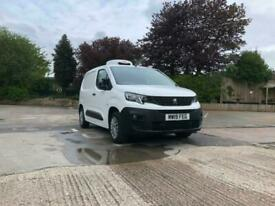 Brand New 2021/21 Peugeot Partner L1 1.5 Blue Hdi 75ps Euro 6.2 Fridge Van