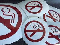 Sign Writing, Vehicle Signage - Cars or Vans, Company Name, No Smoking Stickers, Office Walls