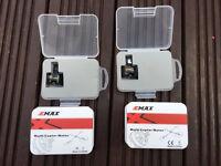 2 Quadcopter Drone EMax MT2204 Motors, RC