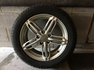 Rims (R16) and tires (205/55/16)