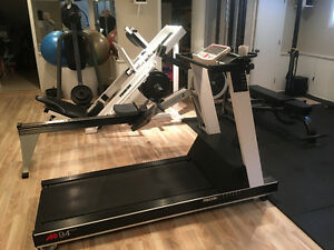 BOXING BAG AND STAND, PRECOR TREADMILL AND MORE