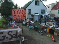 Biggest yard sale Edmonton has ever seen